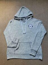 Womens Teenage Girls Hollister Grey Hoodie Sweatshirt Size Medium