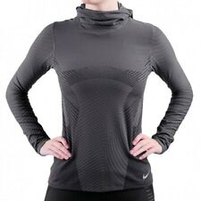 Womens Nike Elements Balaclava Dri Fit Long Sleeve Running Top Size Extra Small