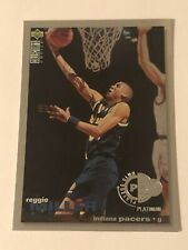Reggie Miller 1995-96 Collector's Choice Player's Club Platinum Parallel #157