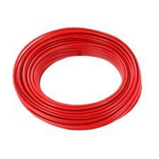 Ring 10m Kupferdraht 0,5mm isoliert Kabel Draht Schaltdraht rot 857370