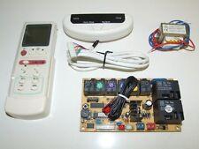 UNIVERSAL AC SYSTEM PCB, REMOTE & SENSORS FOR SPLIT MINI SPLIT DUCTLESS QD-U11A