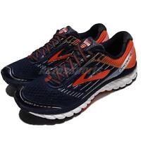 Brooks Ghost 9 IX Black Orange Red Men Running Shoes Sneakers Runners 110233 1D