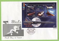 First Day Cover Bhutan Stamps