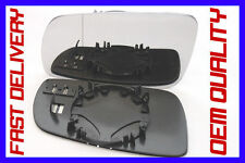 SKODA SUPERB TDI 2001-2006 DOOR WING MIRROR GLASS BLIND SPOT HEATED LEFT