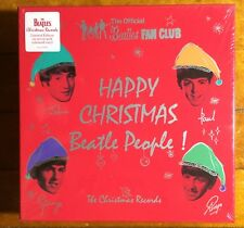 OUT-OF-PRINT Mint Sealed THE BEATLES The Fan Club Christmas Records 2017 BOX SET