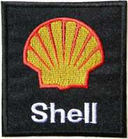 Patch Iron on Advertising Shell Motor Oil Gasoline Racing ATV Decal Fabric Sign