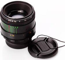 US Helios 44-2 EXC 58mm f2 Rusian Bokeh portrait Lens Canon Nikon DSLR M42 Mount