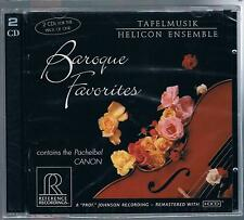 BAROQUE FAVORITES TAFELMUSIK HELICON ENSAMBLE - 2 CD F.C. SIGILLATO!!!