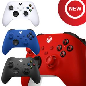 Microsoft XBOX One XBOX X|S GAMING CONTROLLER Wireless weiß rot blau schwarz PC