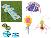 Kids Outdoor Lawn Sprinkler Garden Game Water Watering Activity For Children Wat