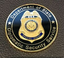 Diplomatic Security Service Basic Special Agent Course Challenge Coin DSS DoS