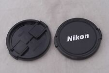 Two Nikon 62mm Front Lens Caps in Excellent Condition