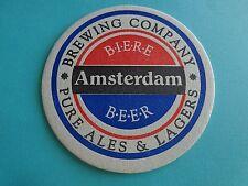 Beer Coaster ~*~ AMSTERDAM Brewing Company ~ Toronto, Ontario, CANADA Since 1994