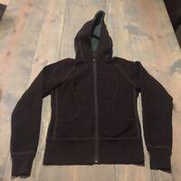 Lululemon Women's Long Sleeve Full Zipper Scuba Hoodie Double Sided Jacket Sz:XS