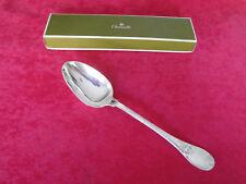 CHRISTOFLE silverplate TRIANON Sauce spoon - brillant luster