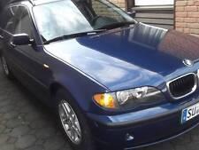 BMW 316 i Touring 85 kW, blau-metallic, 03/2005, Km-Stand:85.000, TÜV 03/2017