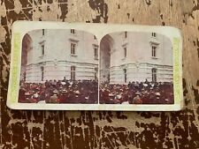 1905 Sousa's Band Paris Exposition World Series Stereoview