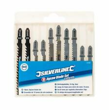 Jigsaw Blade mixed Set for Wood and Metal 10 blades by Silverline good value