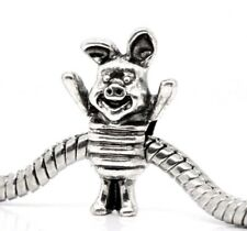 PIGLET_Bead for Silver European Chain Charm Bracelet_Pig Winnie Pooh Cartoon