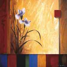 """35""""x35"""" MEDITATION by DON LI-LEGER SOOTHING CALM FLORAL CANVAS"""