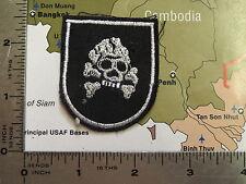 patch  ,  vietnam patch  ,  beret flash , ussf , death skull