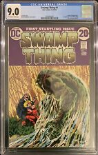 Swamp Thing # 1 CGC 9.0 OW/W (DC, 1972) Origin of Swamp Thing!!