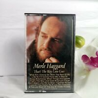 Merle Haggard That's The Way Love Goes Cassette Tape Vintage 1983