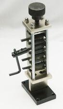 Corrugated Mini Rolling Mill Machine Metal Craft Forming Tool Steel jewellers