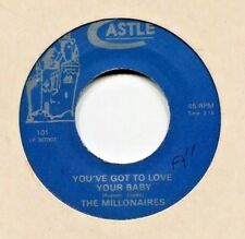 Northern Soul  45  *  The Millionaires  *  You ' ve Got To Love Your Baby *
