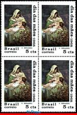 1083-Q BRAZIL 1968 MOTHER'S DAY, PAINTING BY H.BERNARDELI, MI# 1172, BLOCK MNH