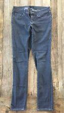 Prana Kara Skinny Jeans Stretchy Gray Denim Size 4