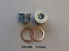 Verschlussschrauben Innensechskant  M20 x 1,5  DIN 908
