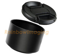 49mm Tele Metal Hood for Nikon Nikkor Sony Fuji Canon Sigma Telephoto Long lens