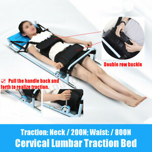 Body Stretch Device Cervical Spine Lumbar Traction Bed Back Therapy Massage Tool