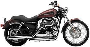Cobra - 6032 - 3in. Slip-On Exhaust, Chrome HD XL1200V Sportster