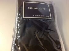 Michael Kors EURO European Pillow Sham Devonshire Brown New