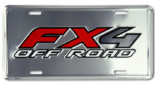 "FORD "" FX-4 OFF ROAD"" EMBOSSED LICENSE PLATE TAG"
