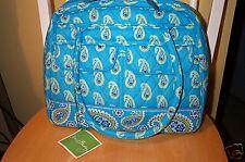 Vera Bradley Retired Bermuda Blue Bowler Bag