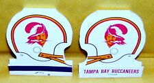 TAMPA BAY BUCCANEERS--2 HELMET SHAPED NFL MATCHES--NEW