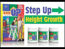 Original STEP UP Ayurveda Herbal Powder Body Growth & Height Increasing Product