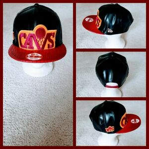 CLEVELAND CAVALIERS NBA BASKETBALL SNAPBACK HAT.