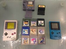 Nintendo Game Boy Color CGB-001 + Game Boy Klassik + Spiele + Game Genie