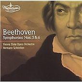Beethoven: Symphonies Nos. 3 & 6 SCHERCHEN Westminster DG remaster 2001 CD