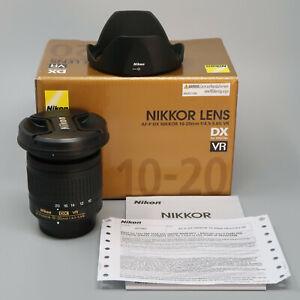 Nikon AF-P DX NIKKOR 10-20mm f/1:4.5-5.6G VR Lens