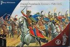 Perry Miniatures FN 140 Plastic French Napoleonic Hussars (14) 28mm Plastic New