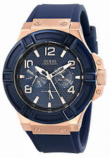 Guess Reloj Case Crystal Pulsera Bracelet Man Watch Mujer Rose Gold Oro Hand Arm