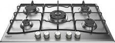 Piano cottura 5 Fuochi incasso a gas L 75 cm Inox Hotpoint Ariston PCN752T/IX