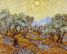 """vAN GOGH VINCENT - OLIVE TREES, 1889 - ART PRINT POSTER 11"""" X 14"""" (1716)"""