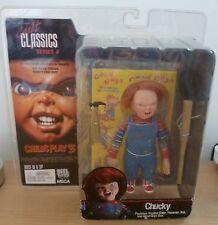 """REEL TOYS NECA Cult Classics SERIE 4 BAMBINO PLAY Figura Chucky 3 - 5"""" Bambola"""