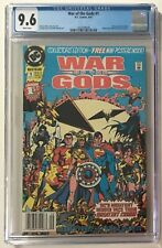 War Of The Gods #1 Newsstand CGC 9.6 NM+ WP 1st App. Circe Wonder Woman Villain